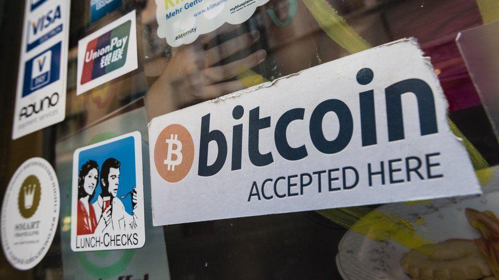 Bitcoin sticker