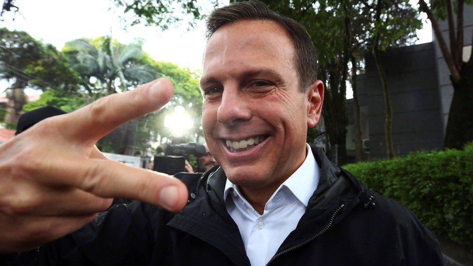 Sao Paulo Mayor-elect Joao Doria