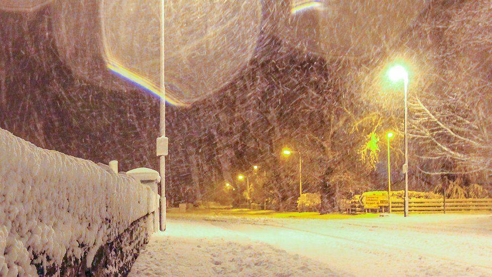 Snow in Eglinton