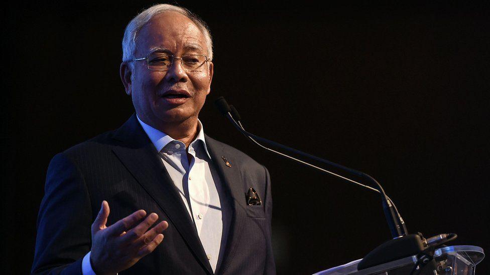 Najib Razak was appointed prime minister in 2009