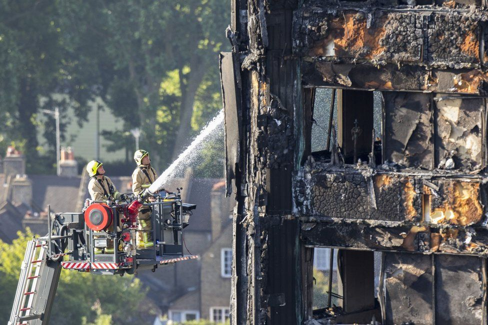 Grenfell Tower: Five things firefighters told us about the fire