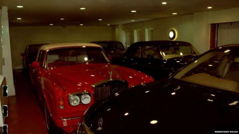 David Barton's luxury cars