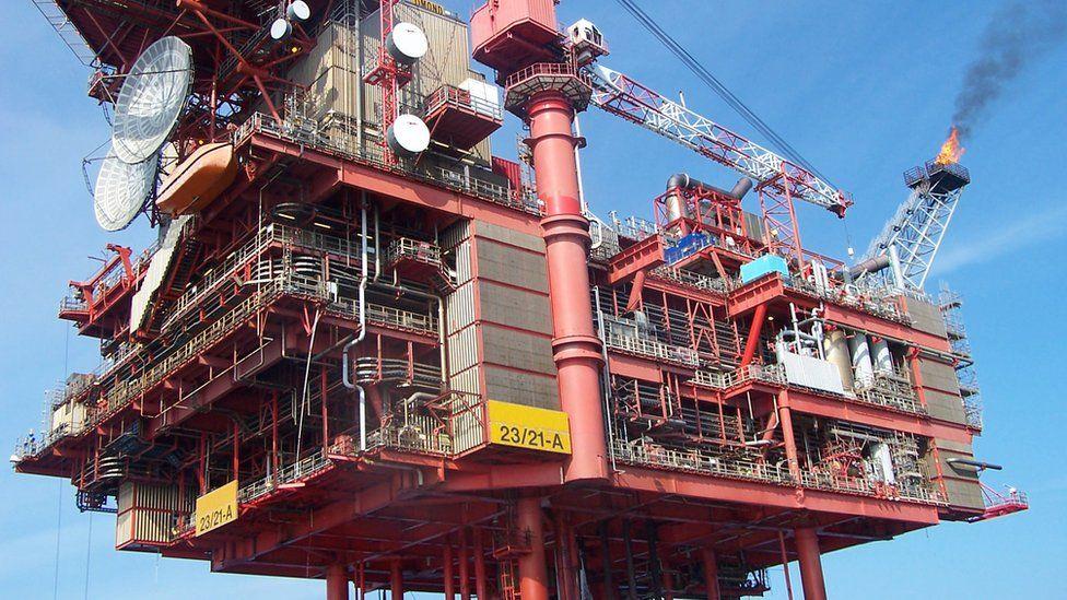 Lomond gas production platform