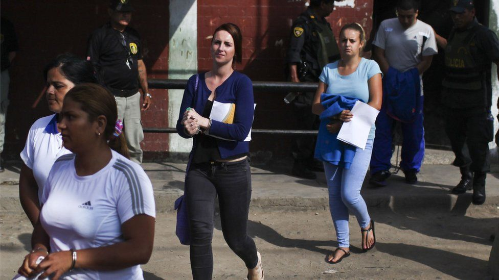 Michaella McCollum and Melissa Reid during their trial