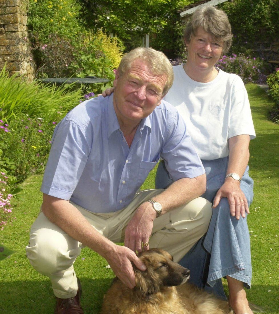 Paddy and Jane Ashdown