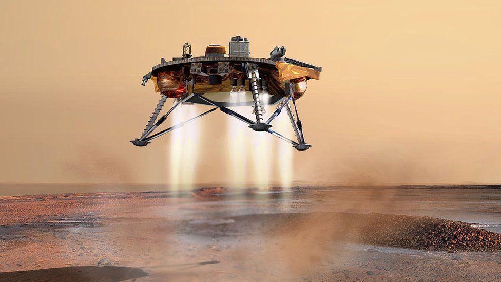 Artwork: InSight lander