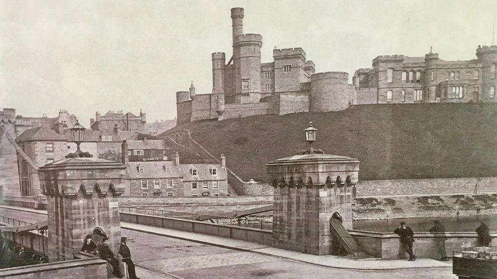 Inverness Castle in 20th Century