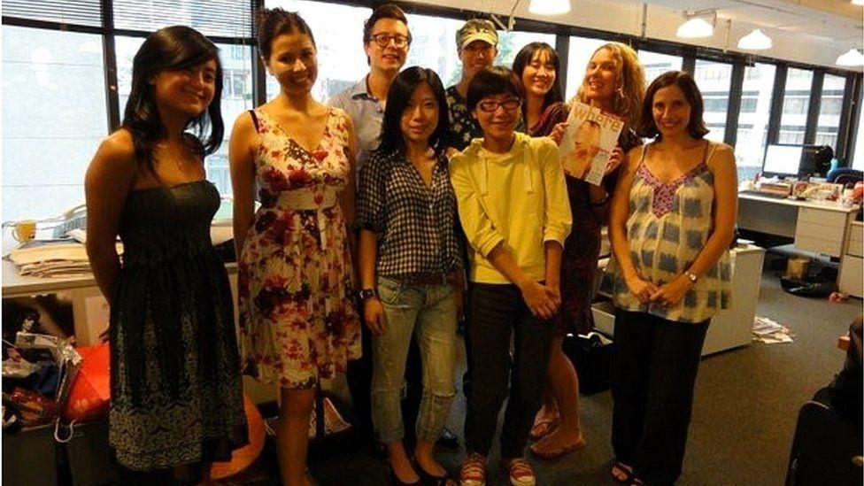 Staff at HK Magazine