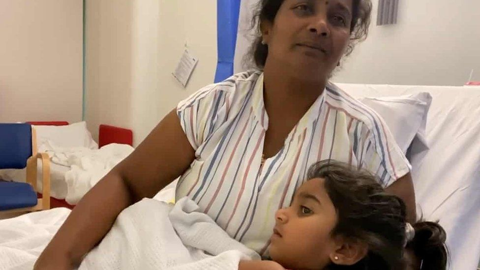 Queensland girl detained on Christmas Island seriously ill