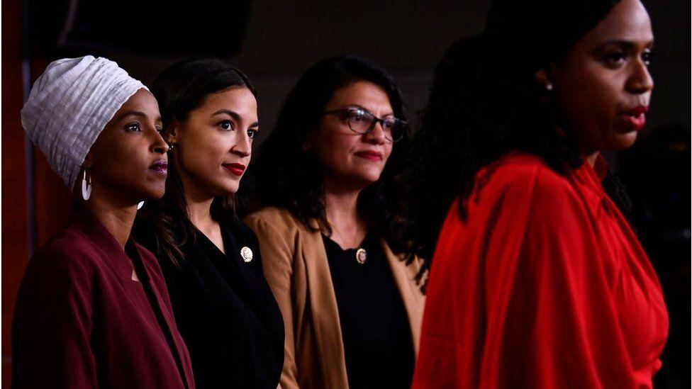 "The ""Squad"" of progressive Democratic lawmakers"