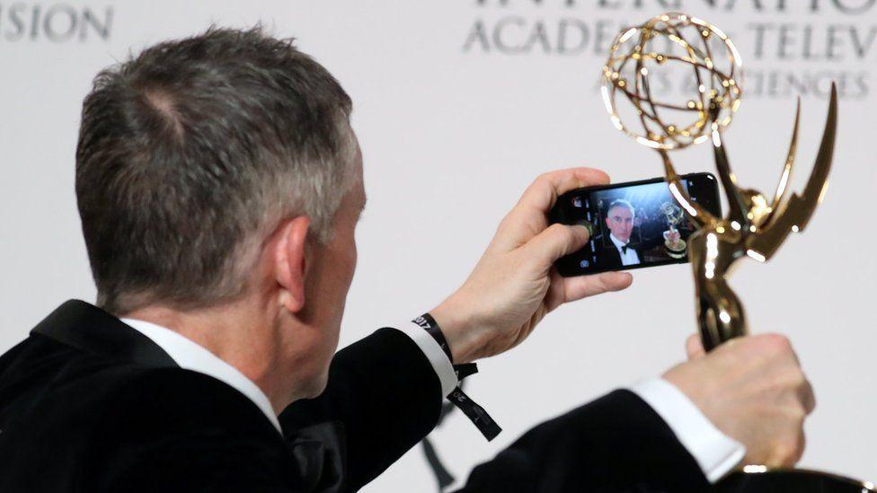 Steve Coogan at the International Emmy Awards