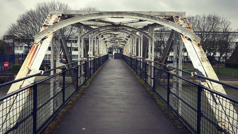 Grandpont Bridge in Oxford