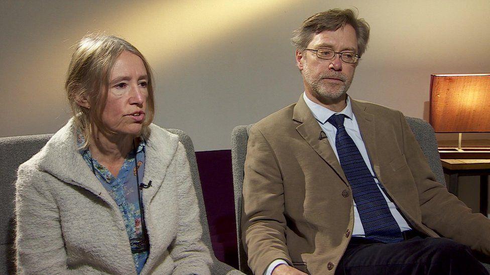 John Letts and Sally Lane