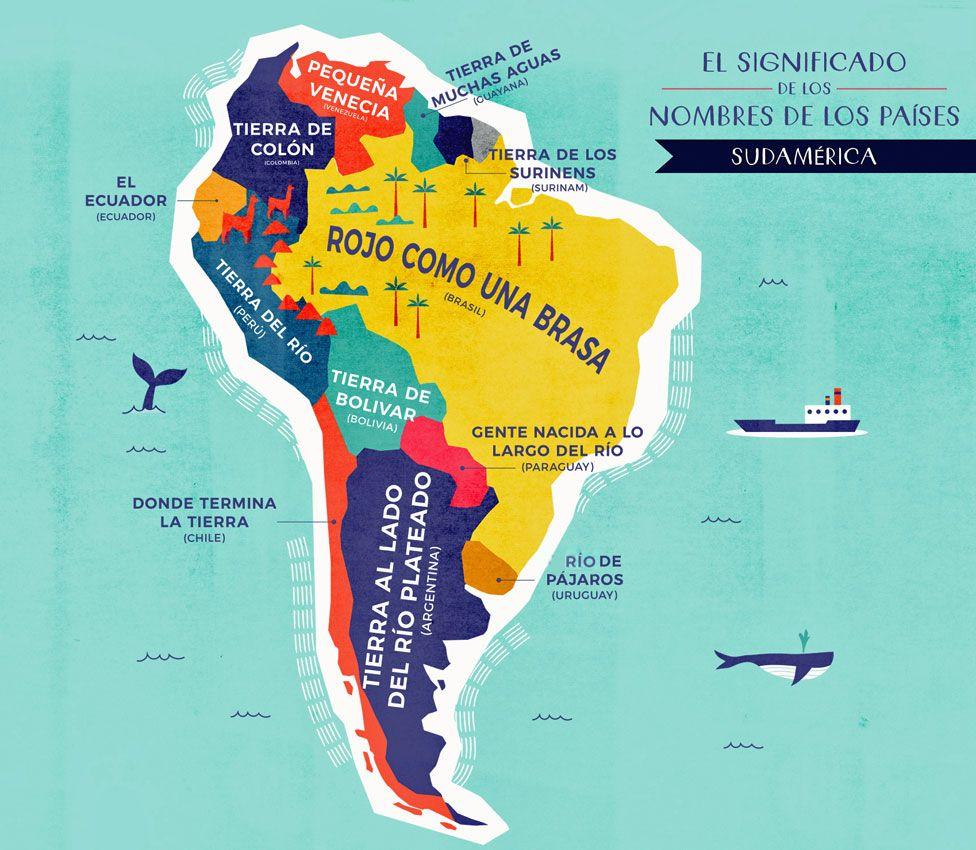 Mapa Sudamerica Y Centroamerica.Mapa De Centroamerica Y Sudamerica Con Nombres