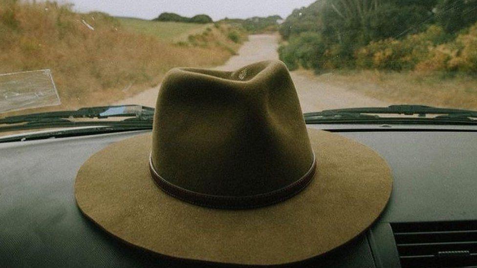 An Akubra hat