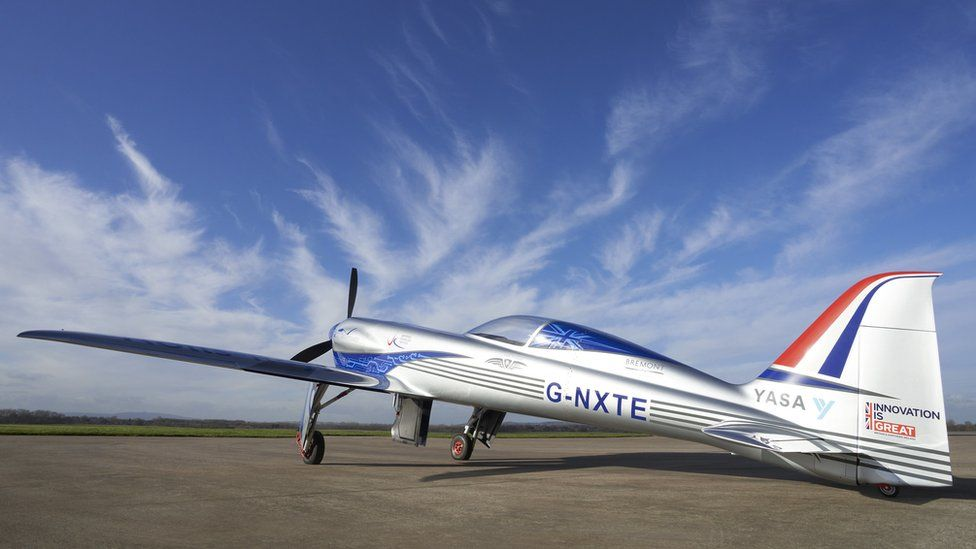The little tech firm gunning for an airspeed record thumbnail