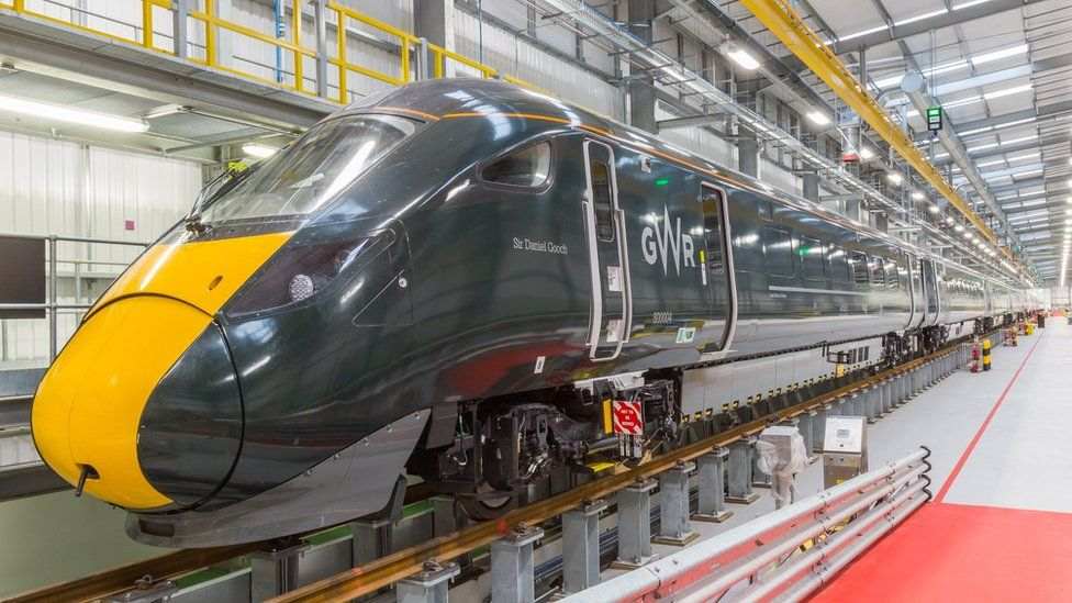 the new hybrid trains