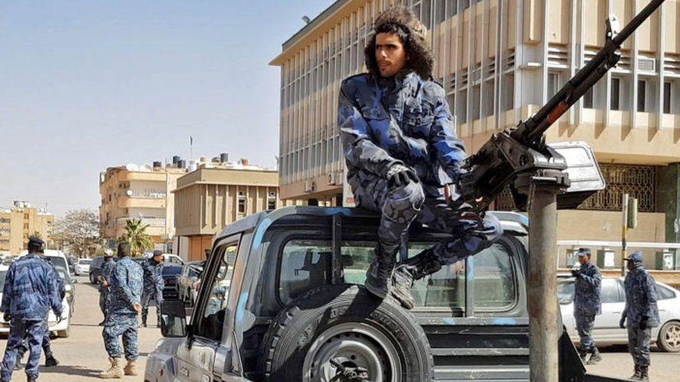 Forces loyal to Libyan strongman Khalifa Haftar