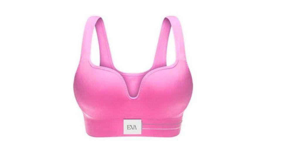 sports bra with Eva logo