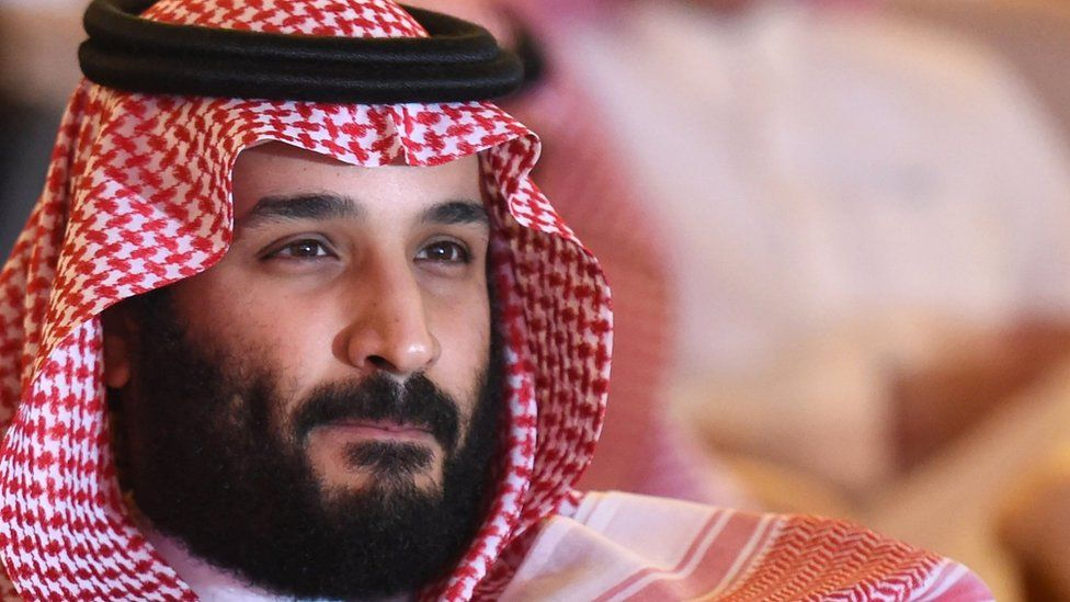 Saudi Crown Prince Mohammed bin Salman attends a conference in Riyadh, on October 24, 2017