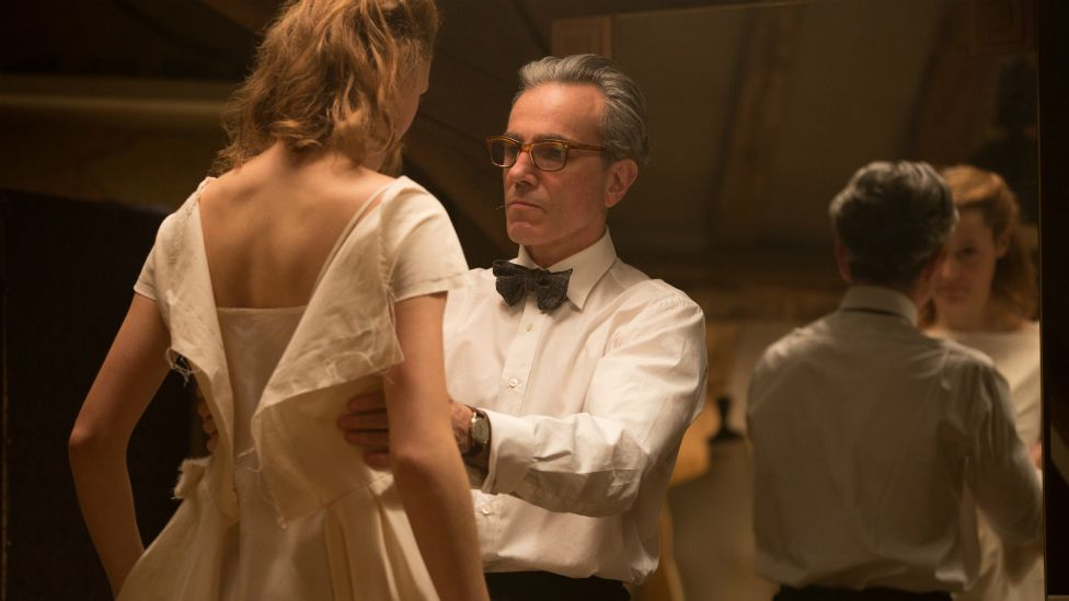 Daniel Day-Lewis and Vicky Krieps
