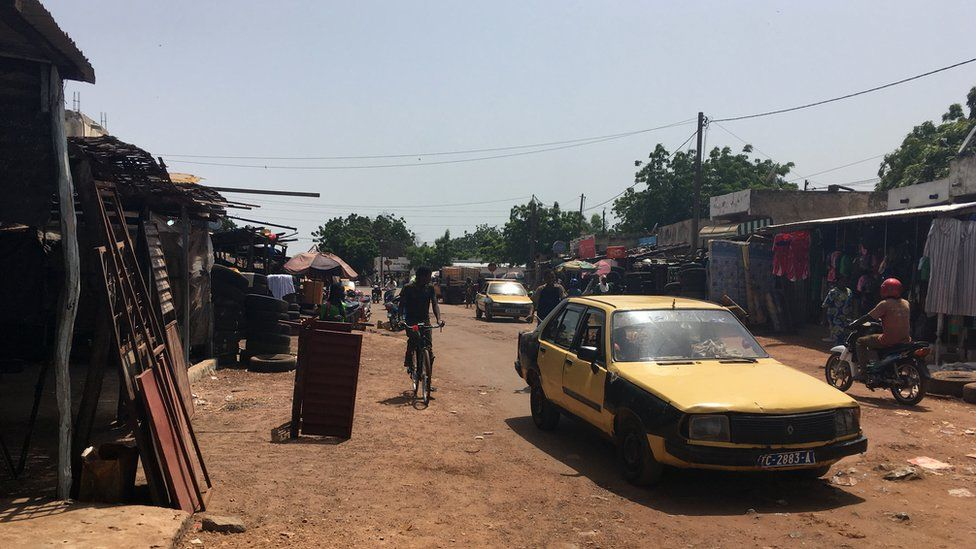 Tambacounda street