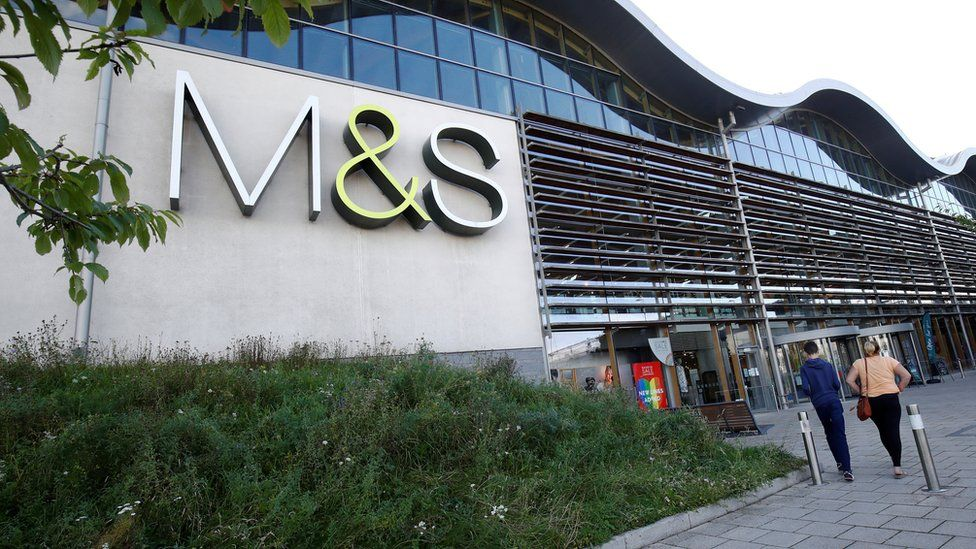 M&S store in Cheshire