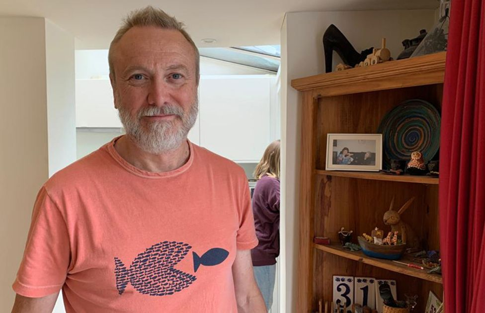Paul Mylrea at home