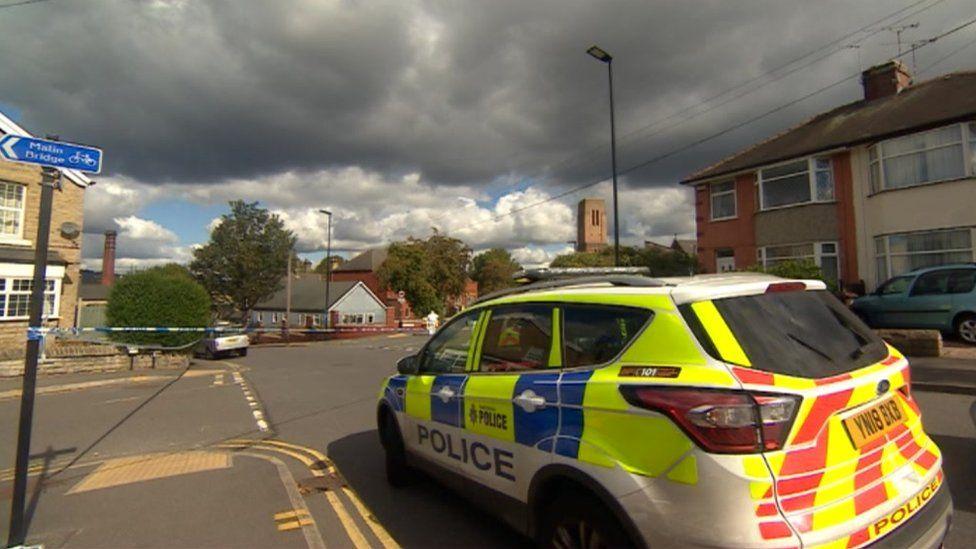 Police car in Walkley Lane