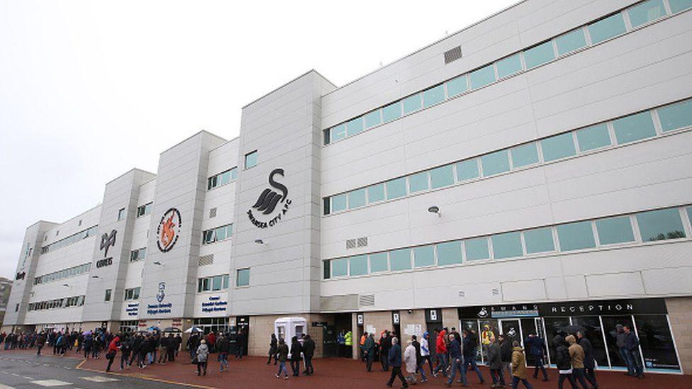 Swansea's Liberty Stadium