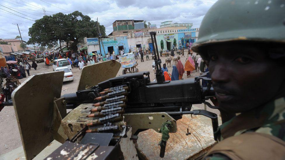 Burundian soldier in Somalia