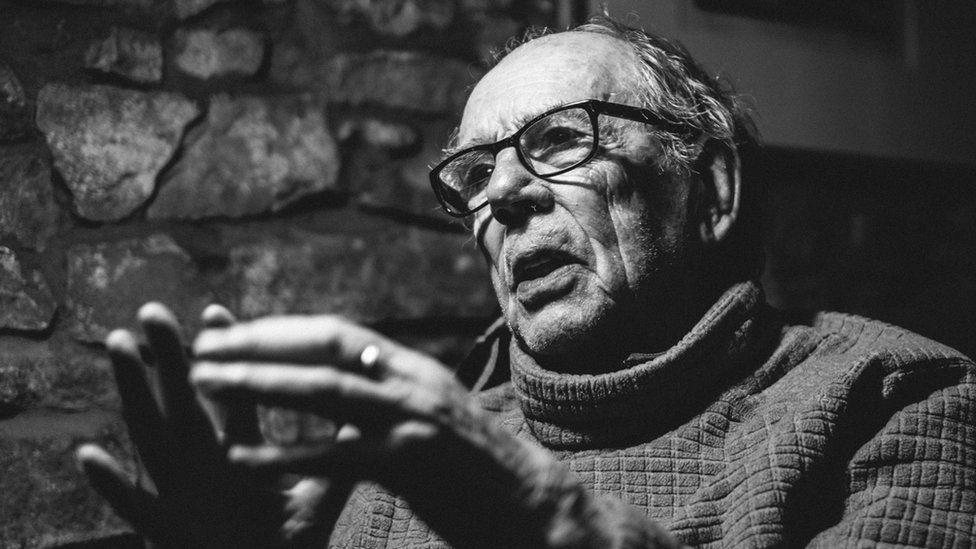 Documentary photographer David Hurn