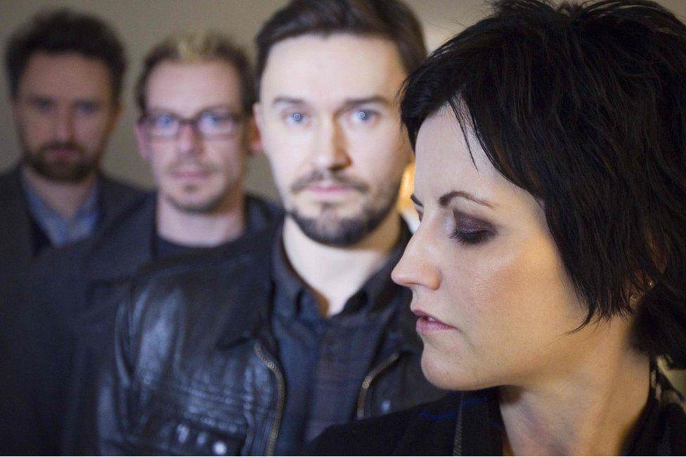 Members of Irish rock band The Cranberries