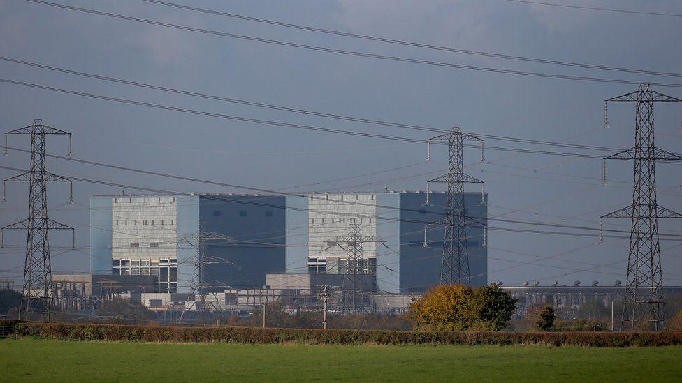 Hinkley Point power plant