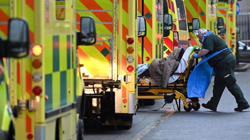 Royal London Hospital, January 2021