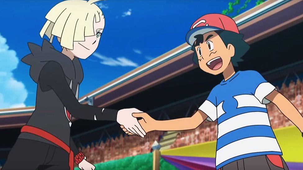 Ash wins the Alola Pokemon League