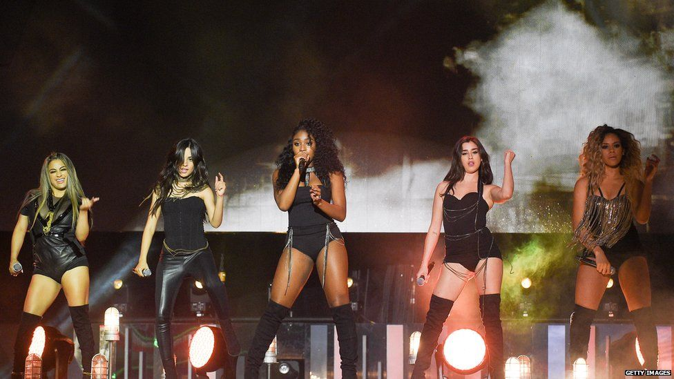 Ally, Camila, Normani, Lauren and Dinah-Jane