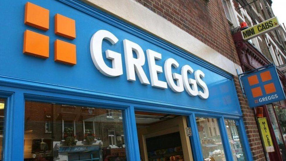 Greggs shop
