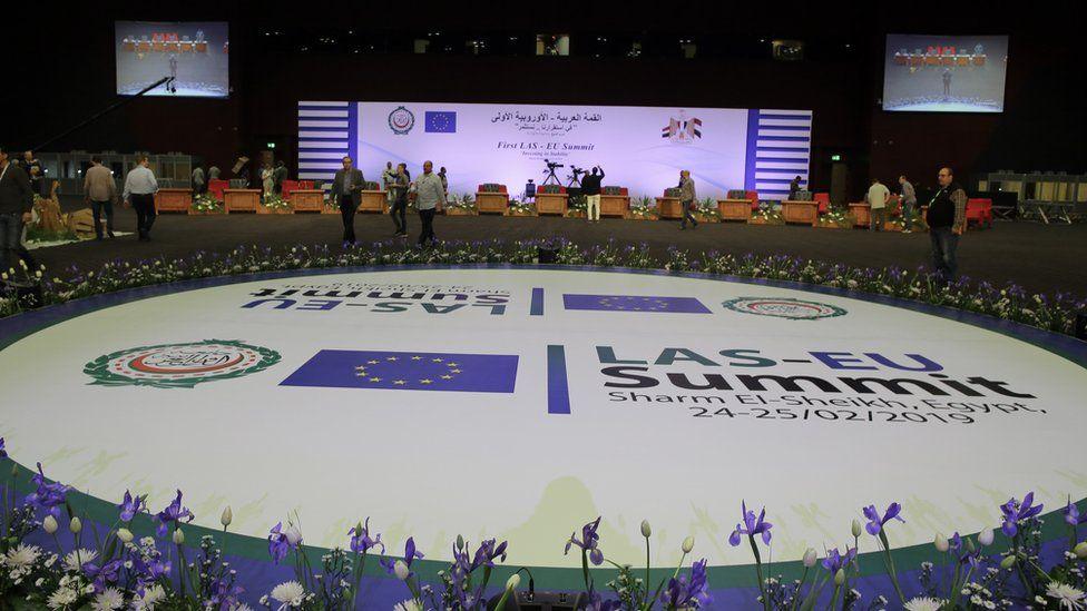 EU Arab League Summit in Sharm el-Sheikh