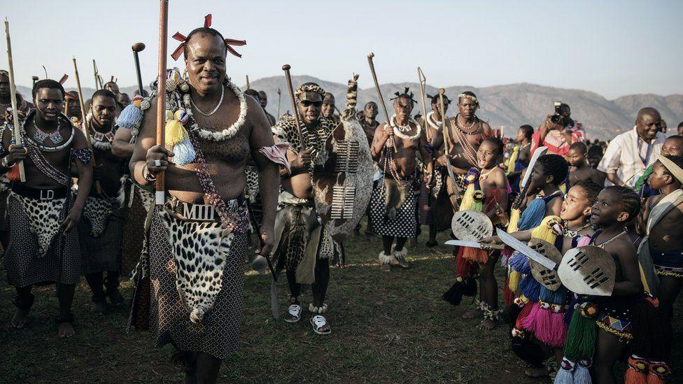 Swaziland's King Mswati III