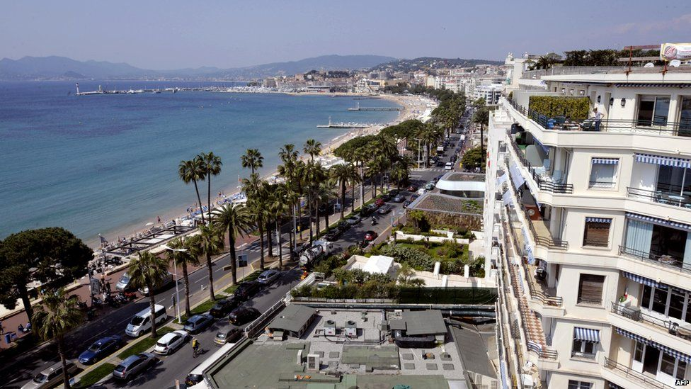 Cannes, on the French Riviera
