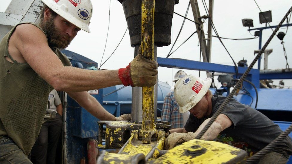 US oil workers