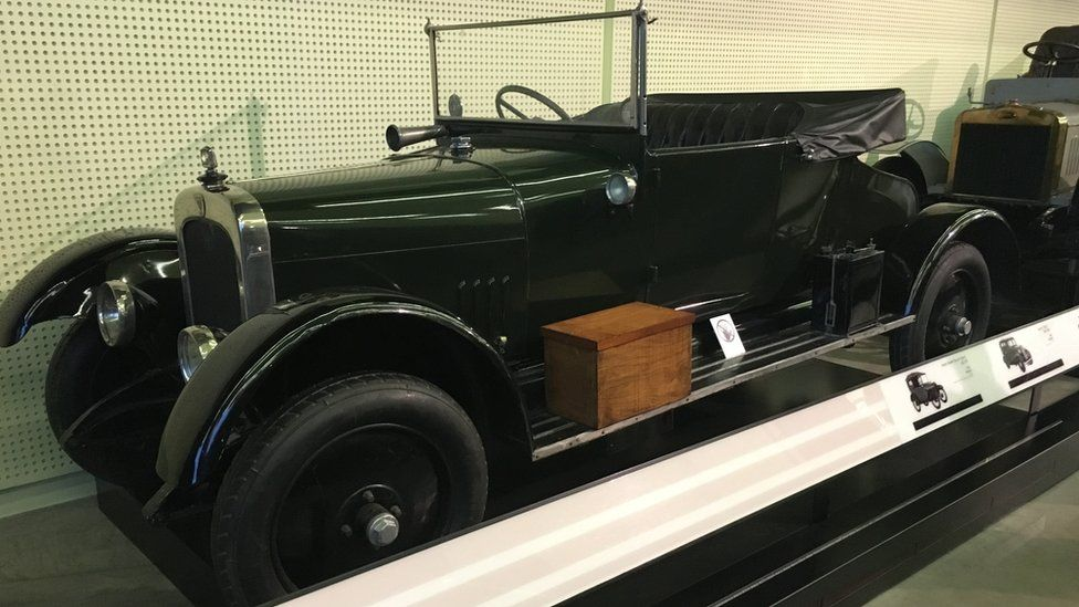 The Galloway car