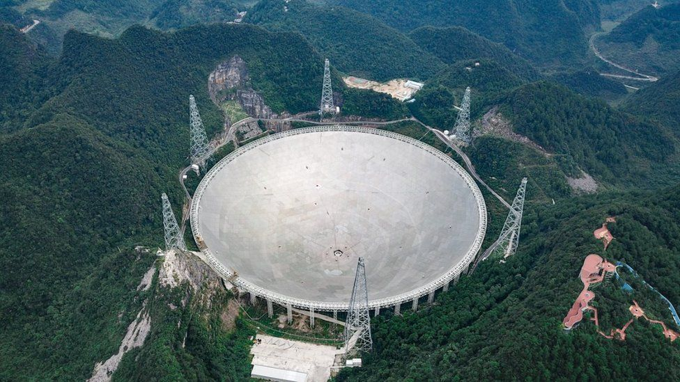 500米口徑球面射電望遠鏡(FAST)