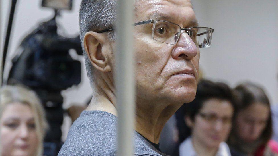 Alexei Ulyukayev in court, 15 Dec 17
