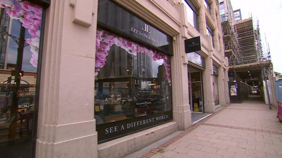 Lee Longlands store on Broad Street, Birmingham