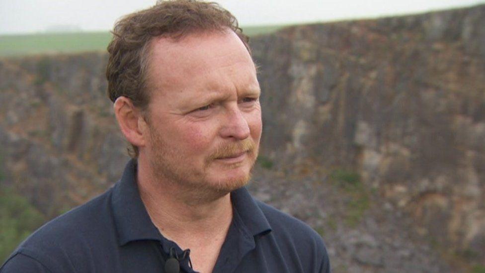 David Savage from Derbyshire Wildlife Trust