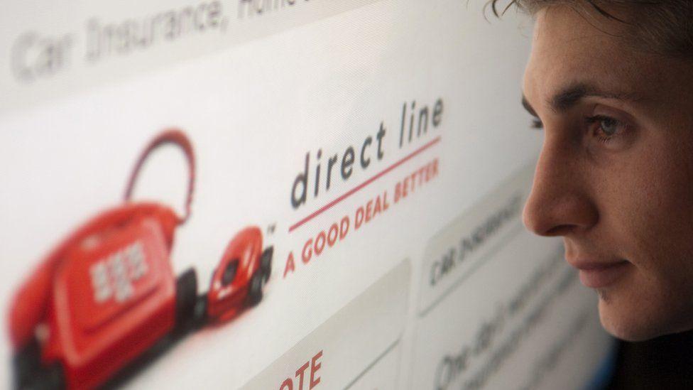 Direct Line website