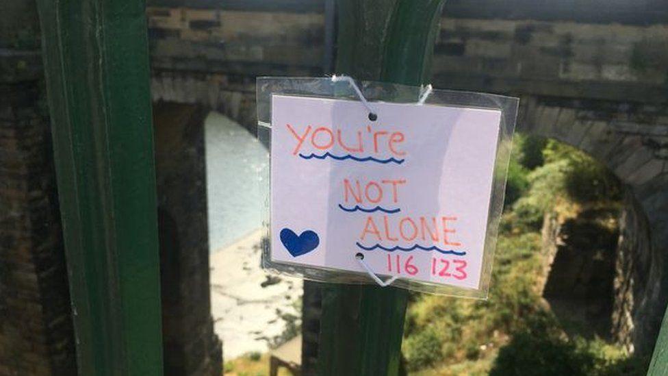 'Messages of hope' for Sunderland's bridges