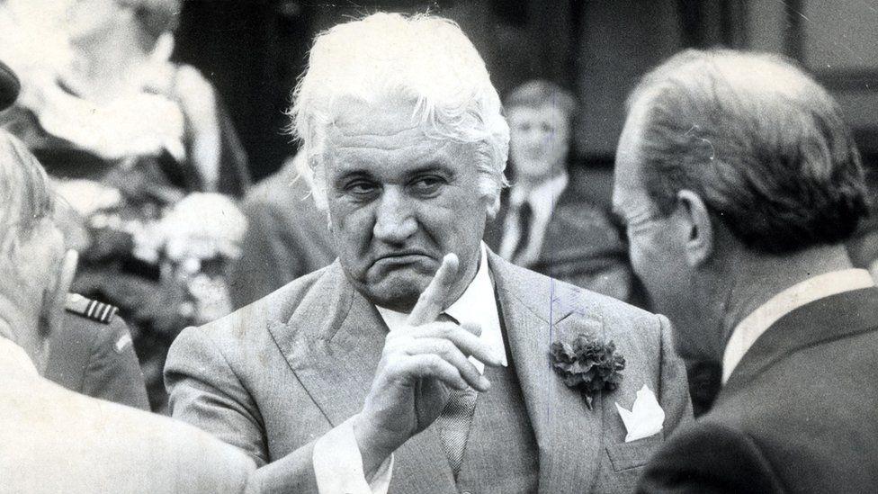 Sir John Kerr in 1977
